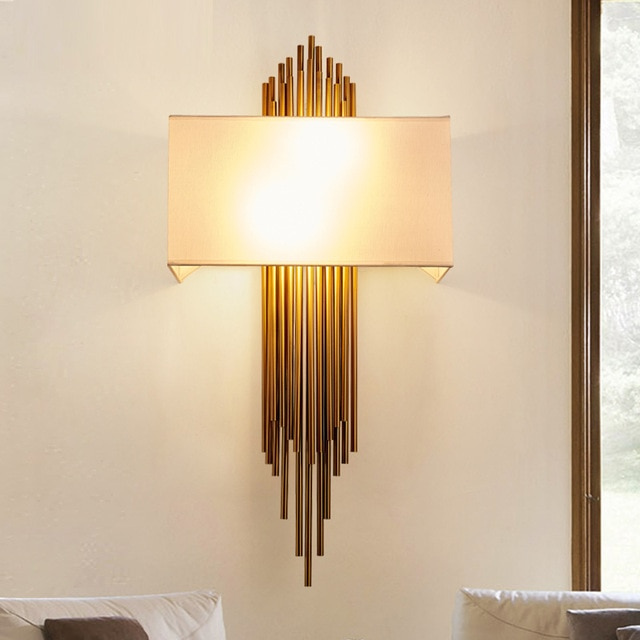 A designer wall light as a work of art