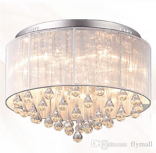 2019 Modern Fashion Fabric Ceiling Light Chandelier Light Crystle