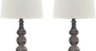 Ashley Furniture Signature Design - Mair Poly Table Lamps - Set of 2