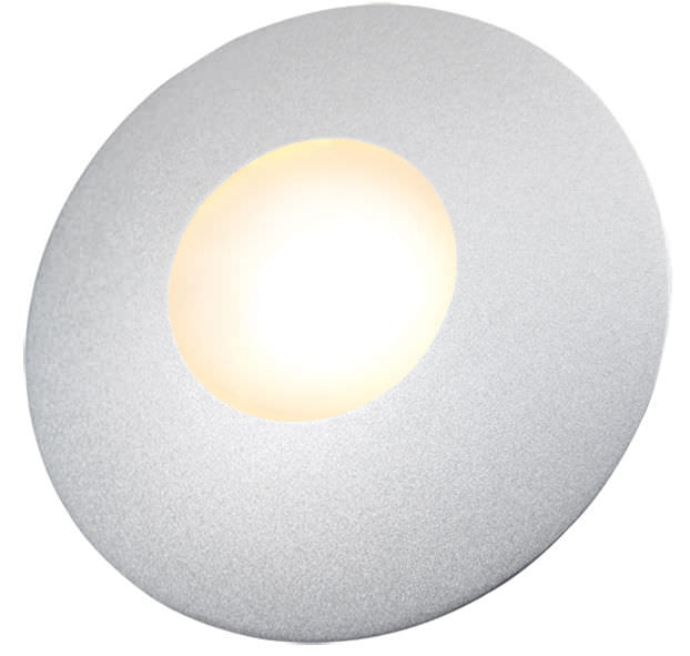 Surface-mounted light fixture / LED / round / for furniture - SLIM