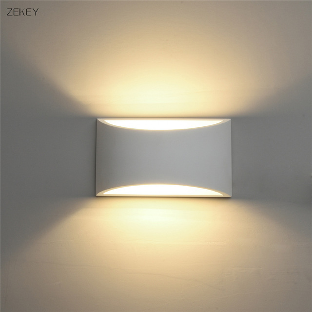 Hot Sale LED Plaster Wall Light Modern Gypsum Sconce Lights 5W G9
