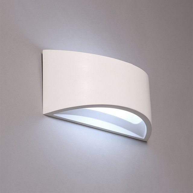 Nordic Style Wall Lamps Contracted Gypsum Wall Lights Modelling Wall