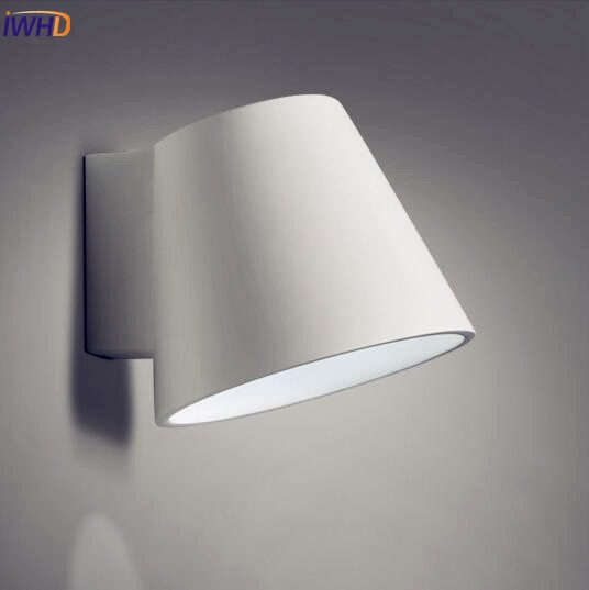 Gypsum wall lights