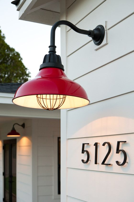 Carson Warehouse Lights with Wire Bulb Guard | Rejuvenation | Patio