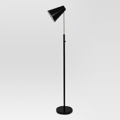 Dual Function LED Floor Lamp Black (Includes Energy Efficient Light