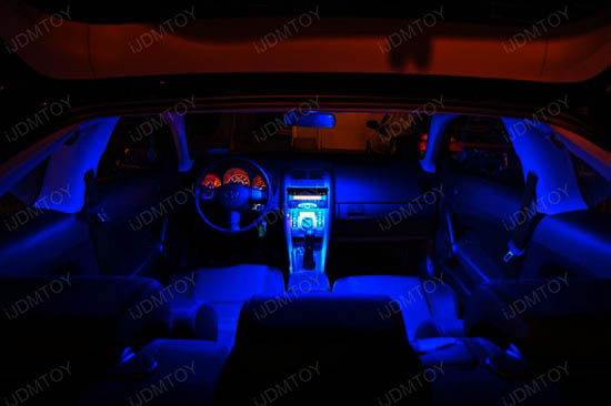 Super Bright LED Car Interior Lights Package For BMW 5-Series