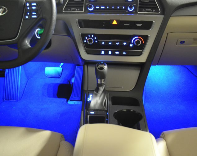 2015-2017 Hyundai Sonata LED Interior Lighting Kit - Free Shipping