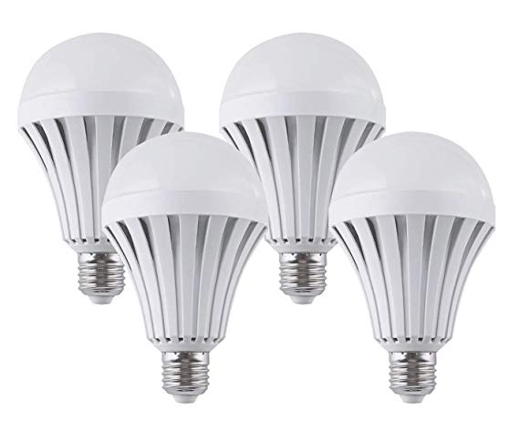 CTKcom LED Light Bulbs 7W (4 Pack)- Emergency Lamps Household