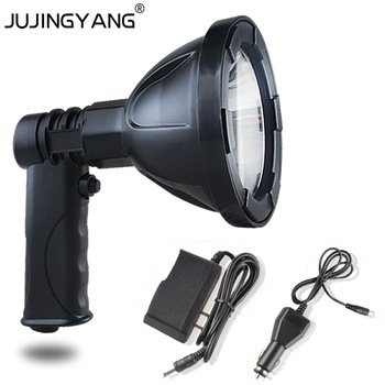Rechargeable Led Outdoor Portable Spotlight With Lithium Battery