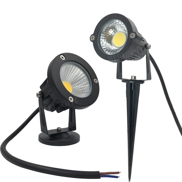 Free shipping led outdoor spotlight 3W 5W 7W 9W led outdoor