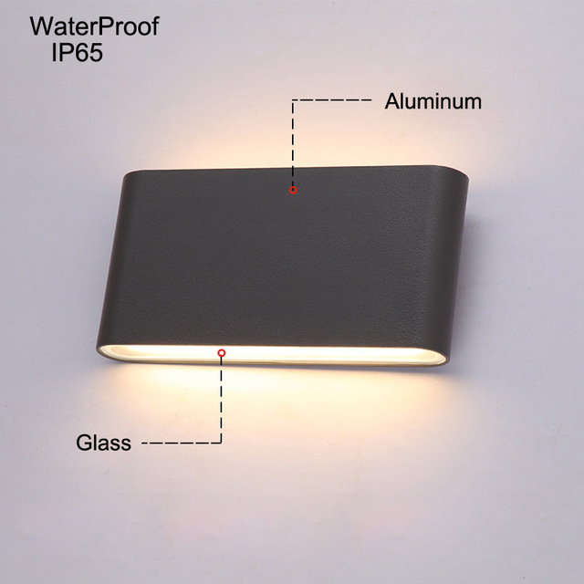 Modern LED outdoor wall lights Porch light Waterproof IP65 for
