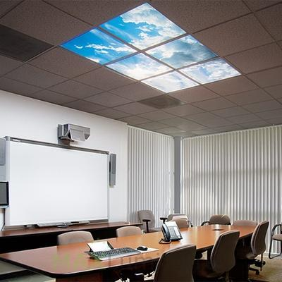 LED panels: The innovative room lighting is so bright and modern