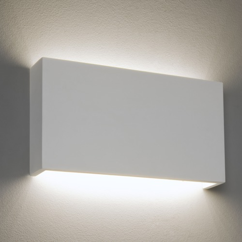 Rio 325 Plaster LED Wall Light 7608 | The Lighting Superstore