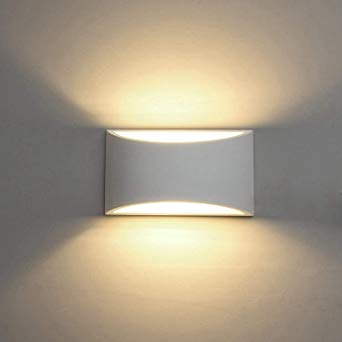 Amazon.com: Modern LED Wall Sconce Lighting Fixture Lamps 7W Warm