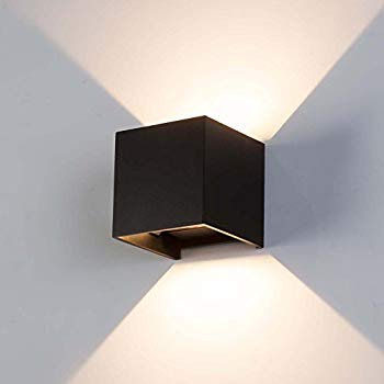 Spacecraft LED Wall Sconce Light, Modern Minimalist Dimmable, UL