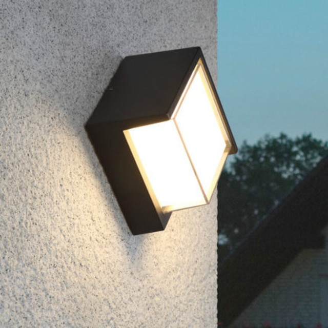 led porch lights outdoor sconces wall outdoor lights waterproof