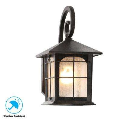Outdoor Wall Mounted Lighting - Outdoor Lighting - The Home Depot