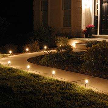 Amazon.com : Lumabase 61010 10 Count Electric Pathway Lights, Clear