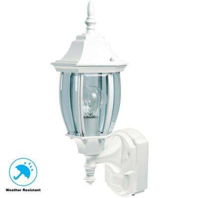 Pedestal lights with motion sensor