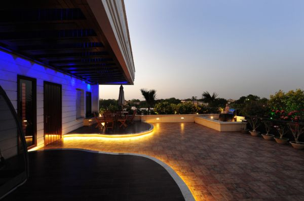 Terrace lighting – stage free for the outdoor living room