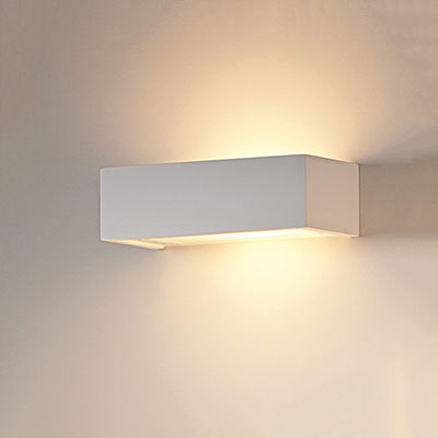 Glow Plaster Wall Light