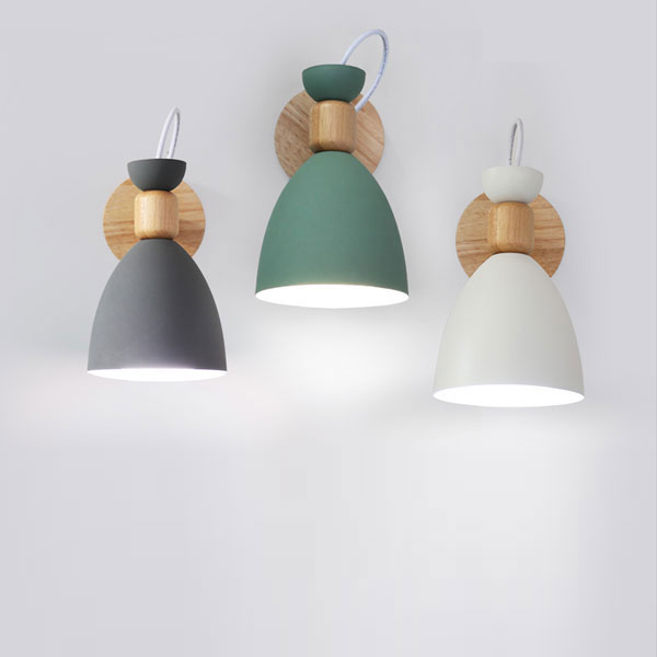 Ranuuki Scandi Pastel Wall Lamp