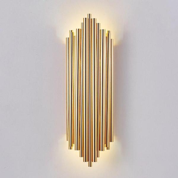 Buy Asymmetrical Nordic-Style Iron Pipe Lamp - Simple Post-Modern