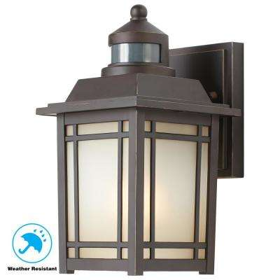 Wall lights with motion detector