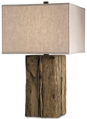 Rustic Modern Bucolic Table Lamp. From Filament Lighting | Little