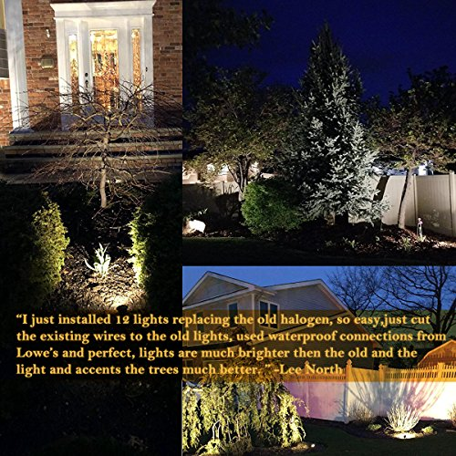6W LED Spotlights Landscape Lights 12V 24V Outdoor Led Pathway Low