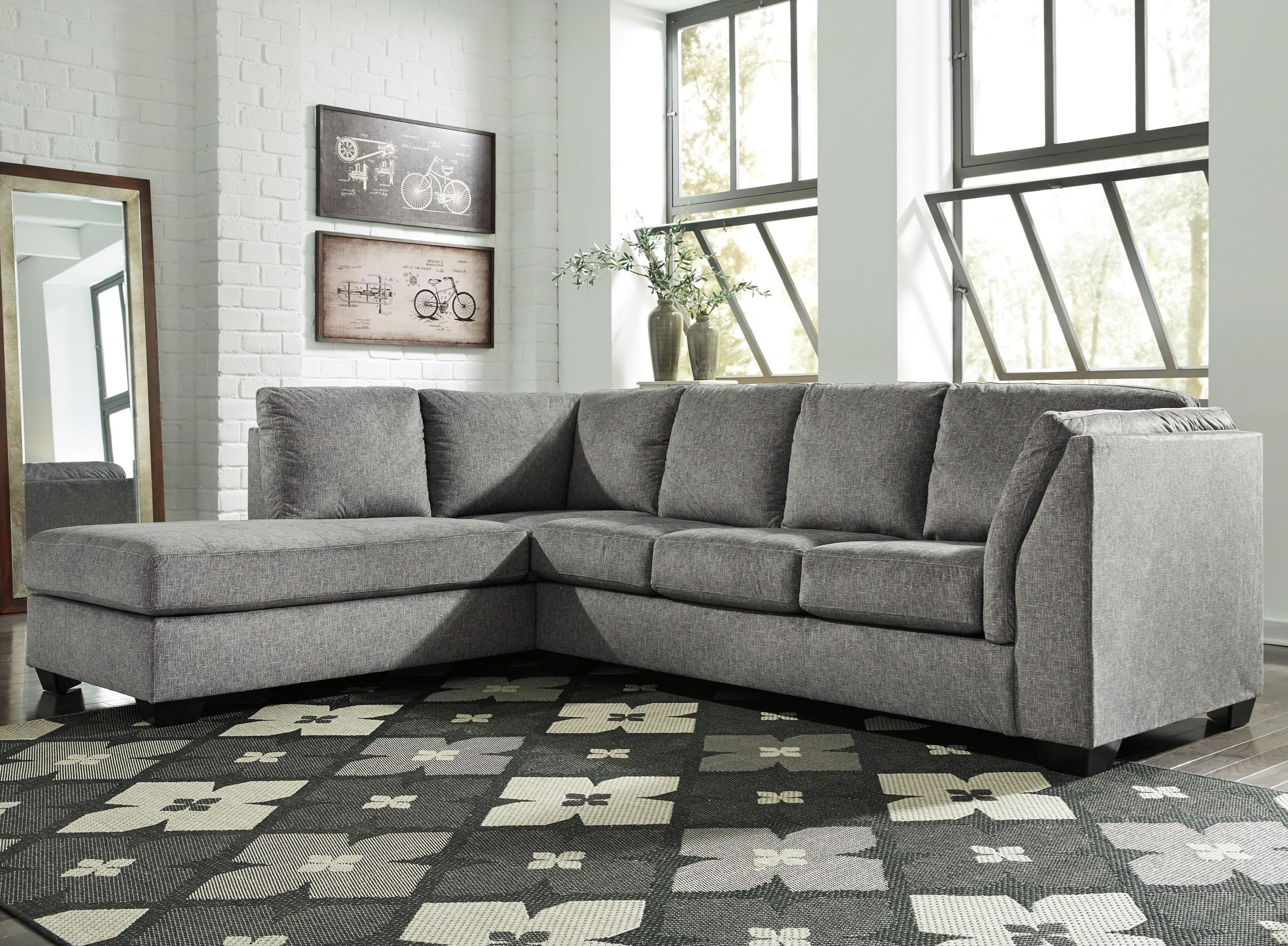 Benchcraft by Ashley Belcastel2-Piece Sectional with Chaise & Sleeper