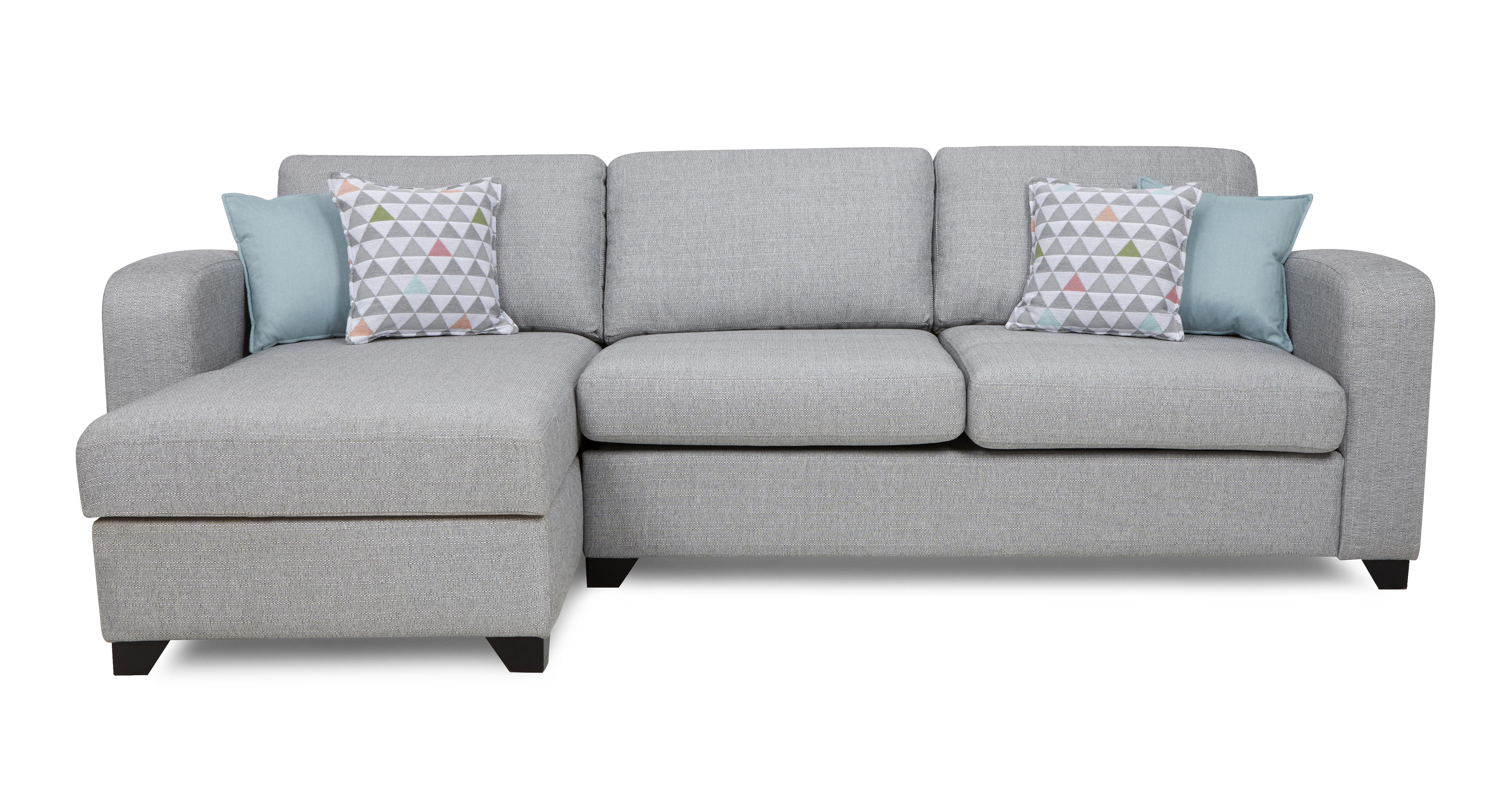 Lydia: Left Hand Facing Chaise End 3 Seater Sofa