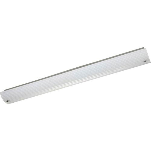 Progress Lighting Ribbed Linear Brushed Nickel Two Light 48 Inch
