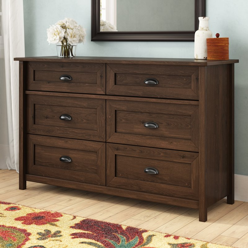 Rossford 6 Drawer Dresser