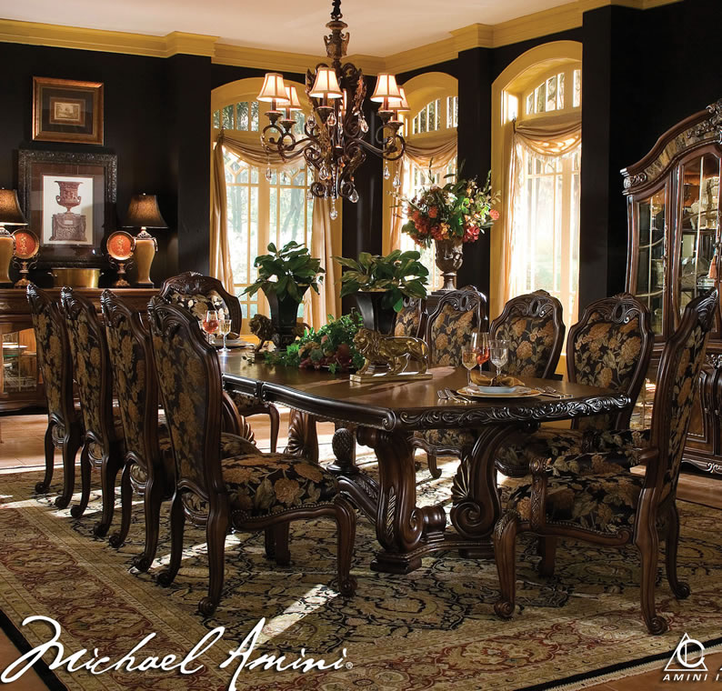 Room Furniture By Aico Inside Dining Idea 0