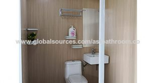 China all in one bathroom shower room