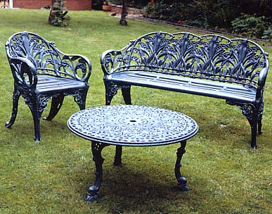 Click here for details of Benches and Chairs