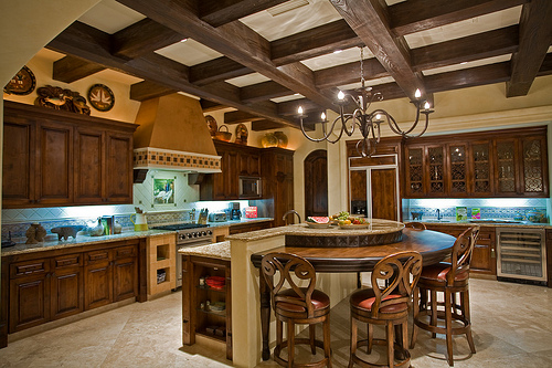 There are a lot of reasons to choose an antique kitchen island.