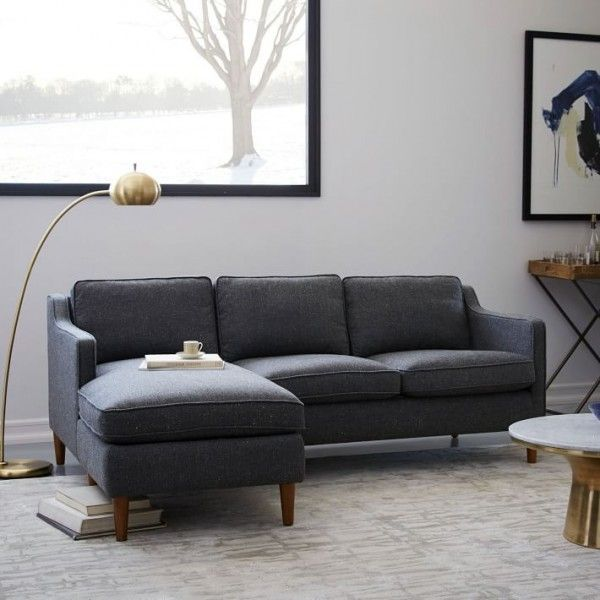 9 Seriously Stylish Couches And Sofas That Will Fit In Your Seriously Small  Space | Space-Saving Products | Sofas for small spaces, Couches for small  spaces