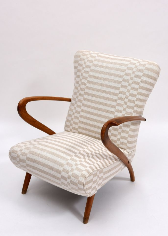 Pair of armchairs | Cool stuff to buy | Pinterest | Wooden armchair,  Upholstered chairs and Chair