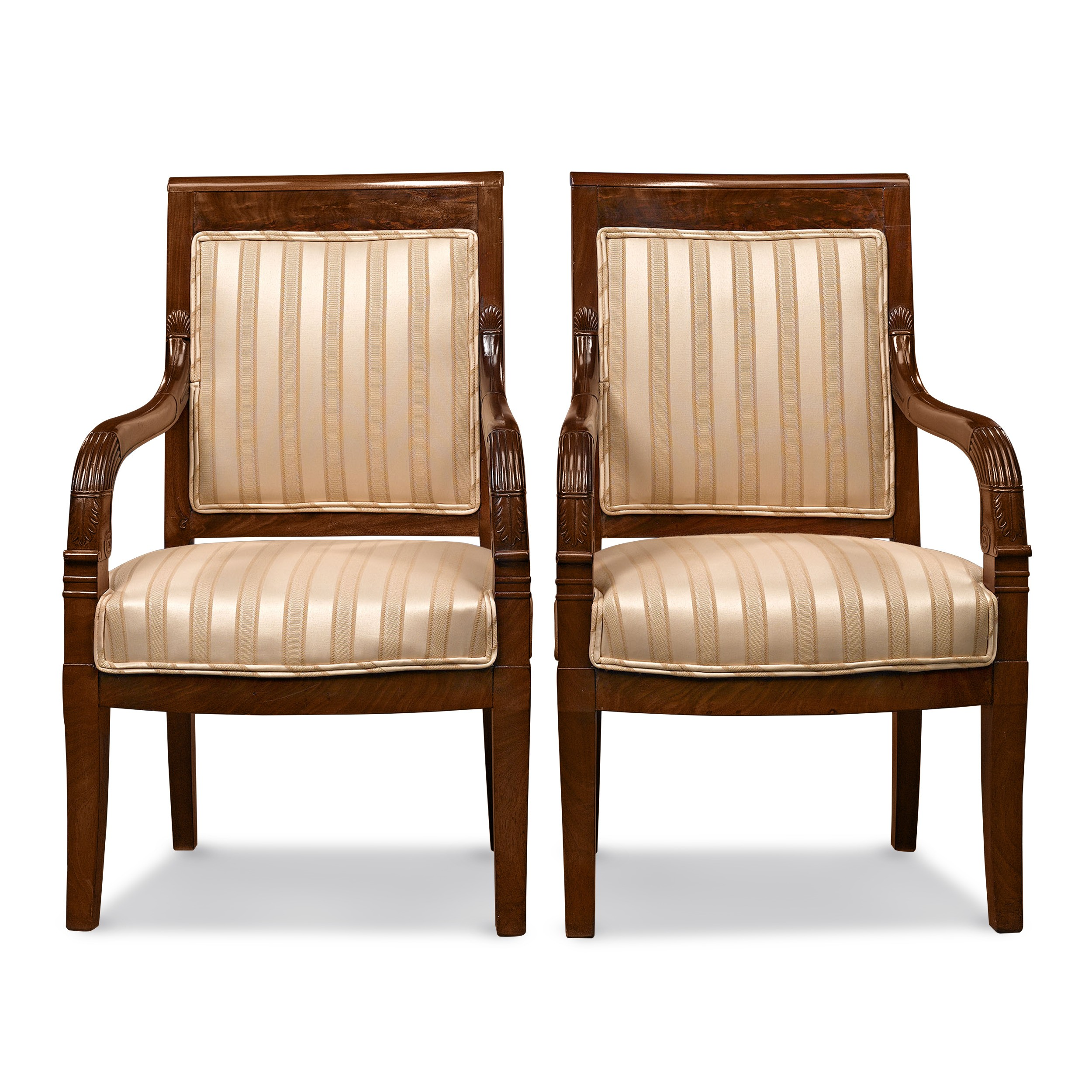 Directoire Upholstered Armchairs Directoire Upholstered Armchairs  Directoire Upholstered Armchairs Directoire Upholstered Armchairs