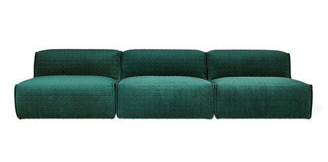 Additional view of Nexus 3PC Armless Sectional Sofa