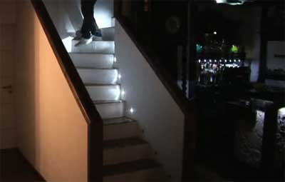 Cool Automatic LED Stair Lighting