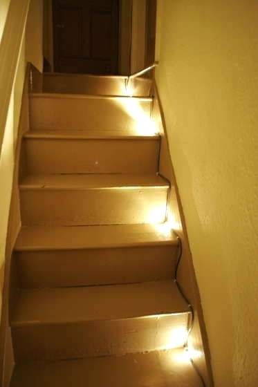 Stairs Led Lights Automatic Stair Led Lighting Ideas Led Stairs