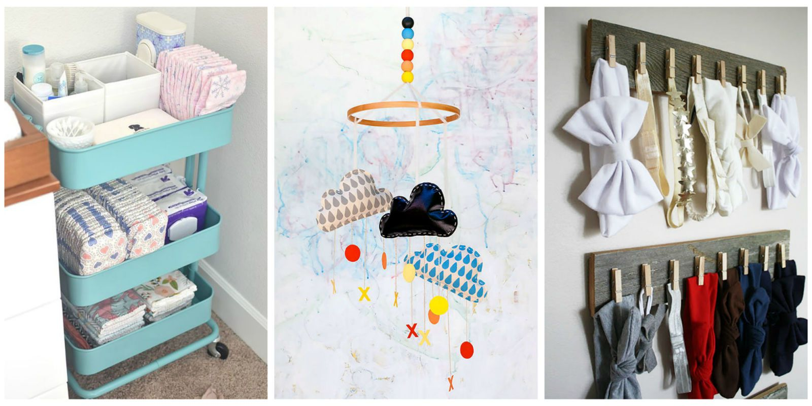 Whether you have space to spare, or you need to get creative in a small  home, try these ideas for room decor, storage, organization and other pre- baby