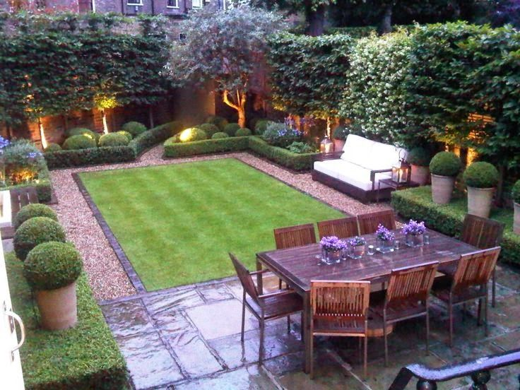 Small backyard design. LUCY WILLIAMS INTERIOR DESIGN BLOG