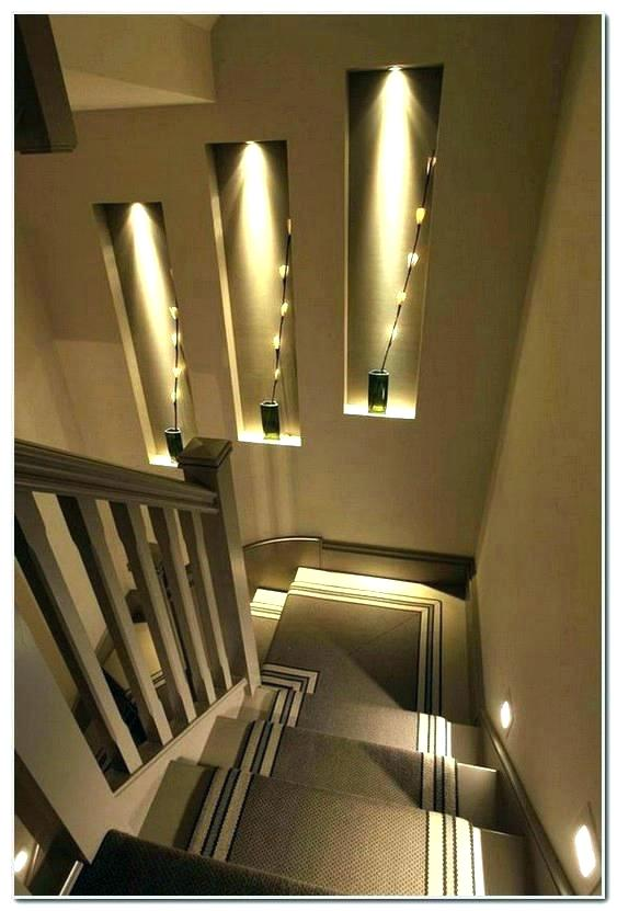 Interior Stairway Lighting Ideas Basement Stair I Director Jobs L