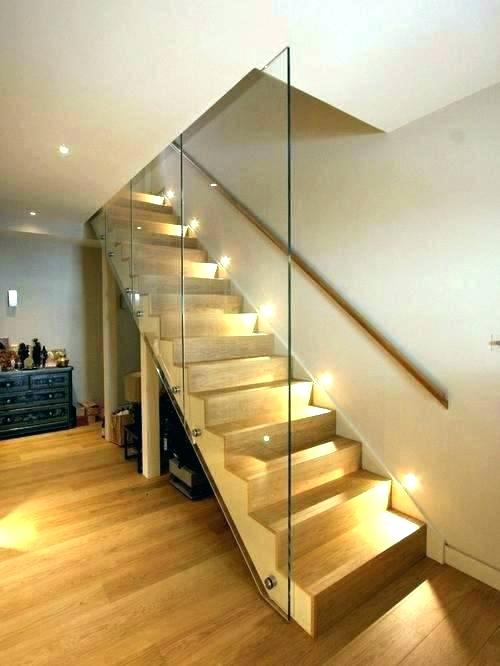 Staircase Wall Lighting Stair Light Fixtures Vintage Basement Stair