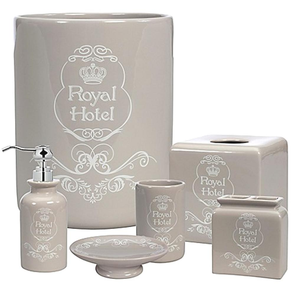 Creative Bath Royal Hotel 8-Piece Ceramic Bath Accessory Set