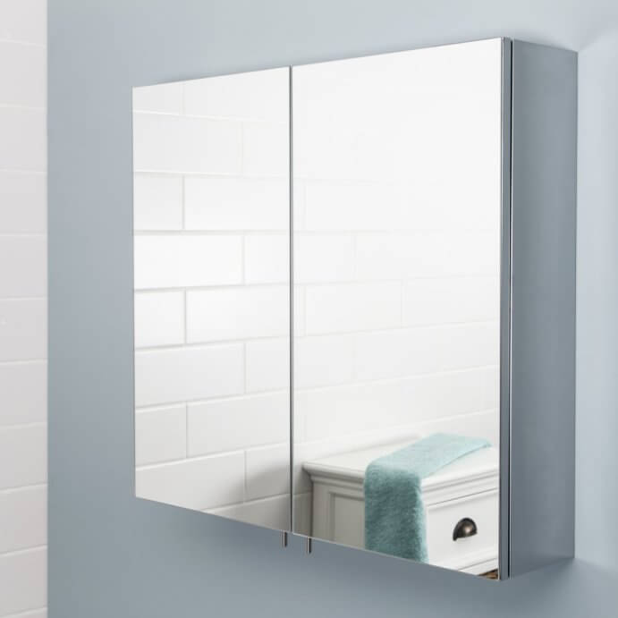 Bathroom Mirror Cabinets without Lights